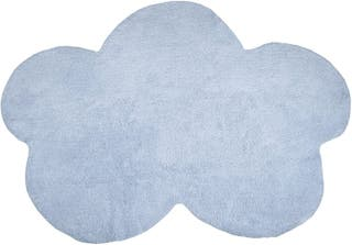 Alfombra infantil lavable nube azul