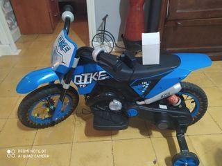 moto de niño a bateria