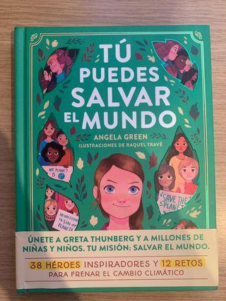 Tú puedes salvar el mundo- libro niños nuevo