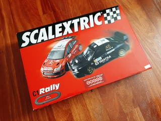 Circuito Scalextric C1 Rally