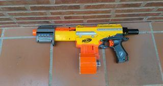 Pistola Nerf niños