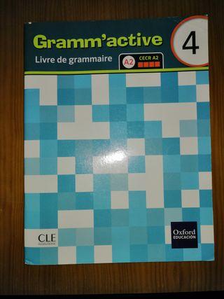 Cuaderno de gramática francés 4º de la ESO
