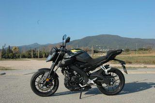 Yamaha mt125 2018 abs solo 325km