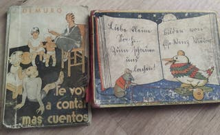 Libros antiguos para niños