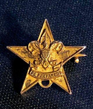 Insignia antigua Scout Estrella. BSA