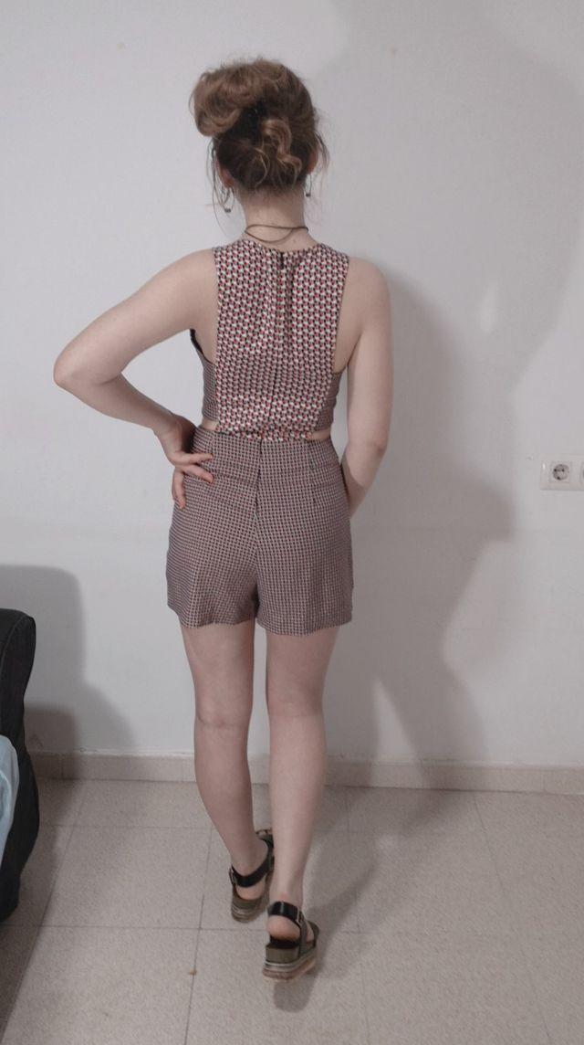 Mono falda/pantalón Estampado