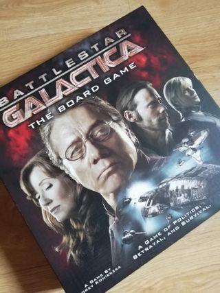 juego de mesa Galactica en inglés