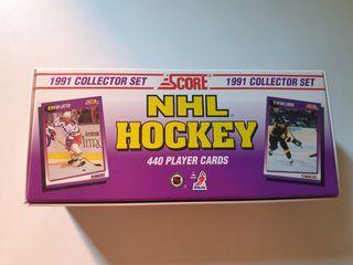 Colección de cromos / cards de la NHL, año 1991