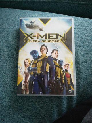 Dvd X-men.