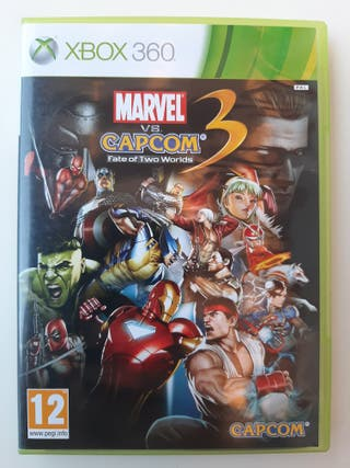 Marvel VS Capcom 3 Xbox 360