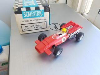 Mclaren F1 Rojo Scalextric En Caja