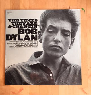 BOB DYLAN - THE TIMES THEY ARE