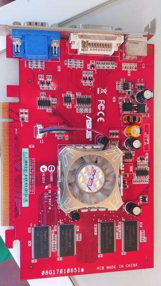 Tarjeta Gráfica Ati Radeon X550