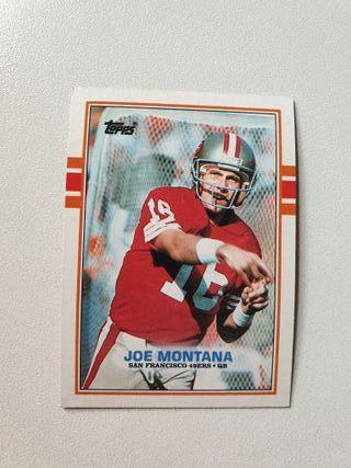 Colección de cromos / cards NFL Topps 1989.