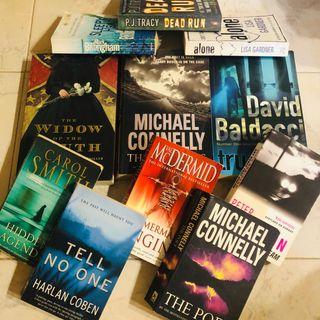 Novelas en inglés (suspense)