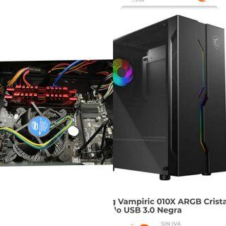 PC ORDENADOR I5 4670k+rams 8gb+msi caja+regalo pb
