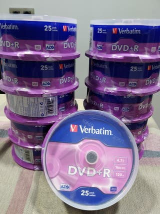 Tarrinas de Dvd +R