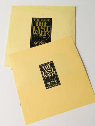 THE BAND The last waltz 3 discos vinilos 3 LP