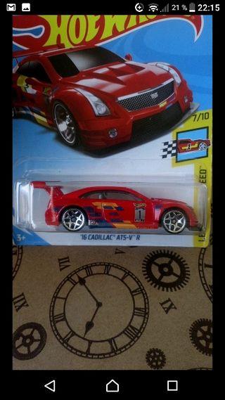 '16 Cadillac ATS-V R Red Hot wheels