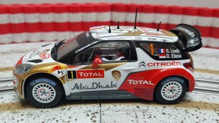 CITROEN DS3 WRC SCALEXTRIC