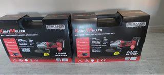 Nuevo radial 36v. 2 baterías