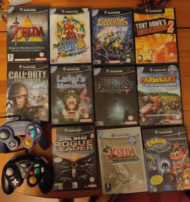 Juegos y mandos para Nintendo Gamecube