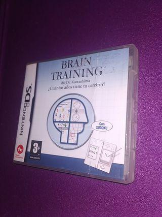 BRAIN TRAINING NINTENDO DS