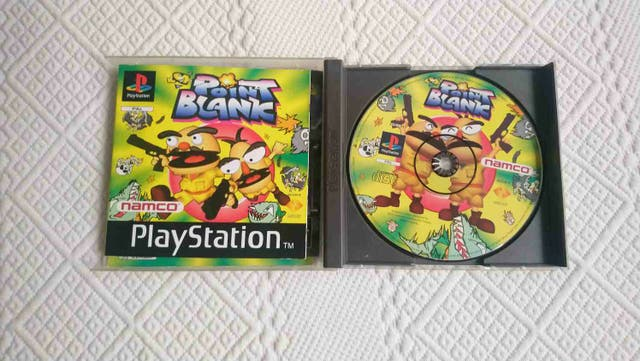 Point blank juego PS1