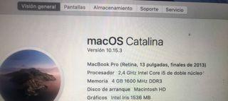 Placa base MacBook Pro Retina 13 (mid 2013)
