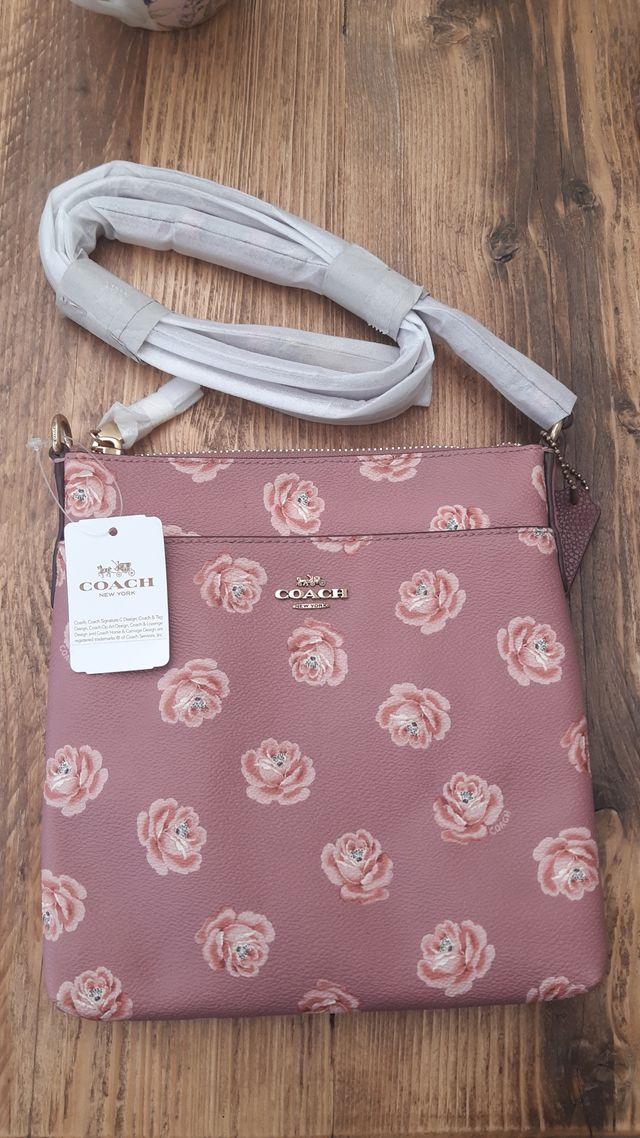 Original Coach messenger bag. Floral collection.