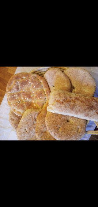 pan de sesamo y avena