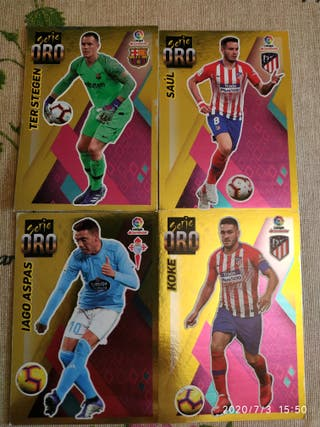 Cromos Liga 19/20 ediciones Este.