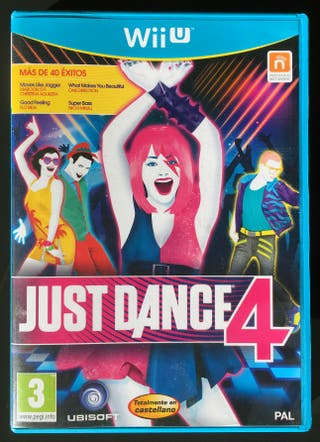 Juego de Wii U Just Dance 4 (WiiU)