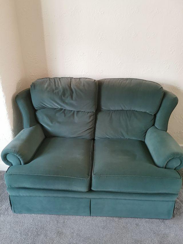 2 seater vintage sofa