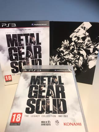 """Metal Gear Solid """"The Legacy Collection"""" Ps3"""
