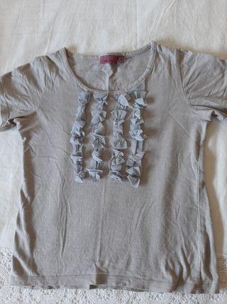 Pack 2 camisetas niña. Trucco. Talla 8 años.
