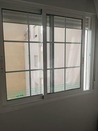 3 ventanas aluminio