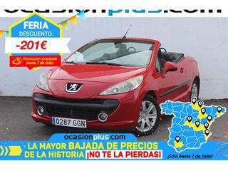 Peugeot 207 CC 1.6 VTi 88 kW (120 CV)