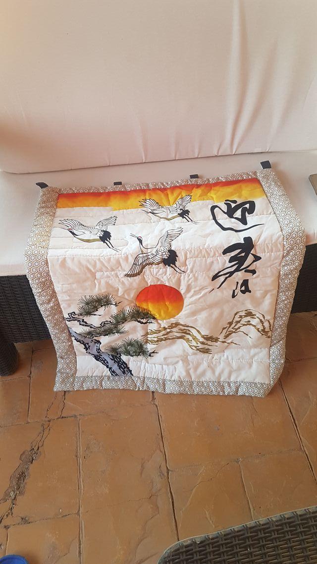 cortina decoración japonesa