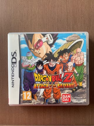 Dragon Ball Z Attack of the Saiyans Nintendo DS
