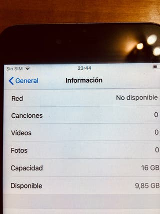 iPhone 6 Plus 16GB gris espacial SOLO MÓVIL