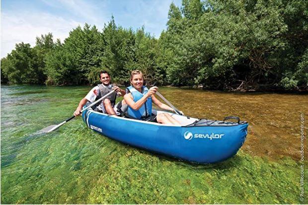 Kayak Hinchable SEVYLOR Adventure+ Bidon Estanco