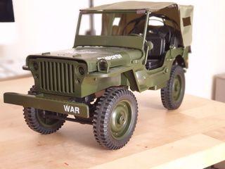 Jeep Willis maqueta