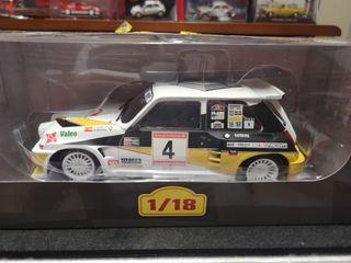 Maqueta Rally Renault 5 de sainz