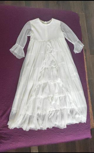 Vestido comunion Nicoli
