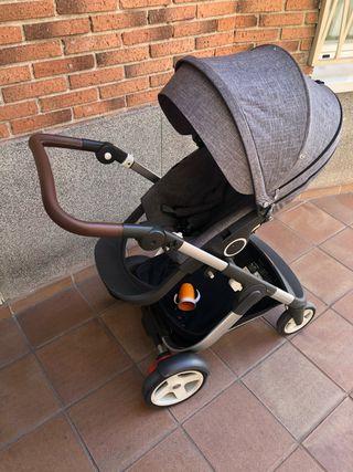 Carro stokke trailz con silla y silla coche gb
