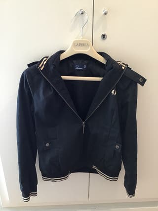 Chaqueta bomber Fred Perry Mujer
