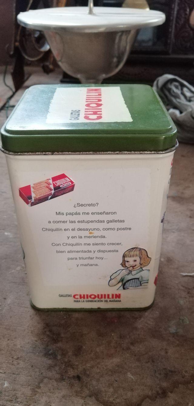 Caja lata Chiquilin