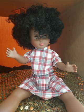 muñeca Kika molde de Nancy antigua afro