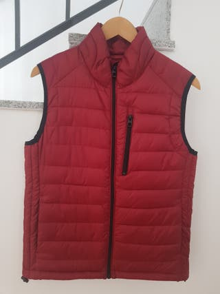 Chaleco rojo Zara talla M